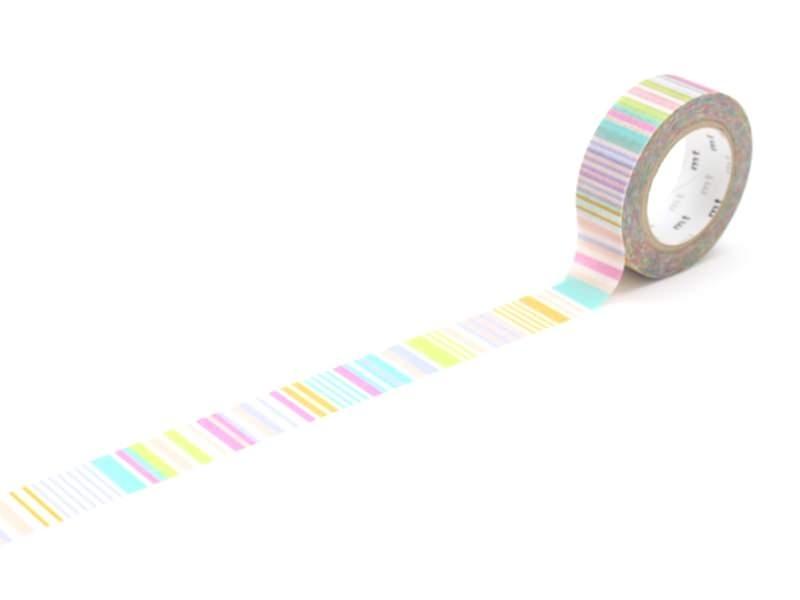 Masking Tape motif - rayures pastels Masking Tape - 1