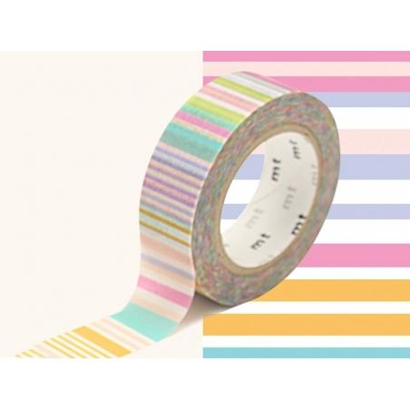 Masking Tape motif - rayures pastels Masking Tape - 3
