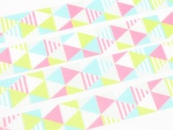 Masking Tape motif - Shimasankaku pink