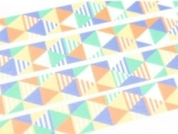 Patterned masking tape - Shimasankaku blue Masking Tape - 2