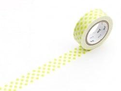 Acheter Masking Tape motif - pois vert - 3,30€ en ligne sur La Petite Epicerie - 100% Loisirs créatifs
