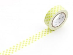 Masking Tape motif - pois vert