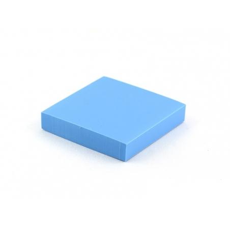 Gomme à graver pour tampon - bleu