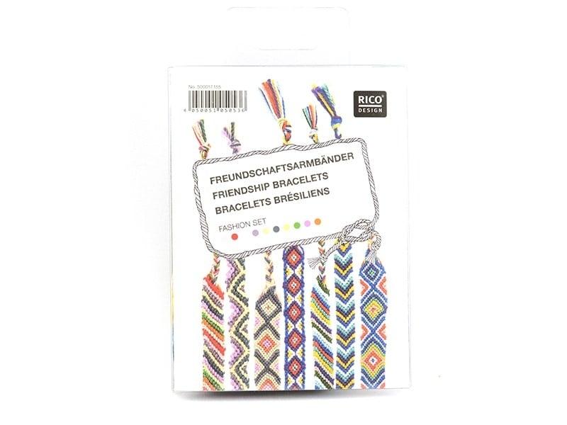 Acheter Kit bracelets brésiliens - 8,10€ en ligne sur La Petite Epicerie - Loisirs créatifs