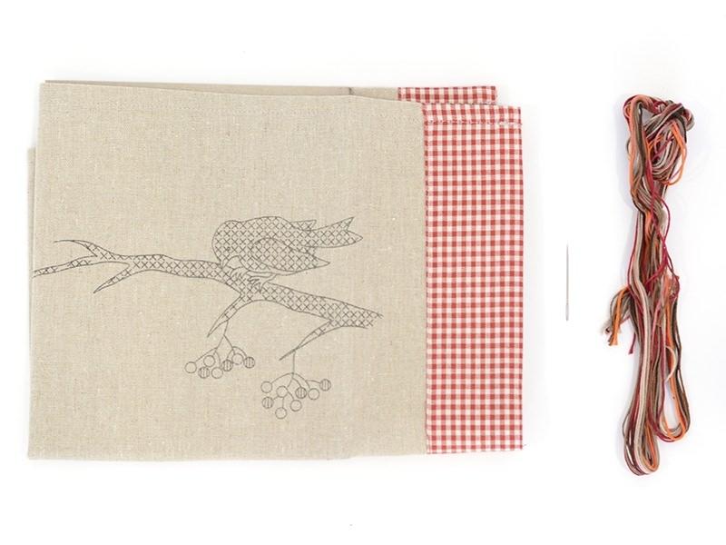 Kit de broderie Set de table - oiseau Rico Design - 1
