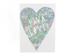 "Card - ""Viva love"""