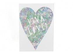 "Carte ""viva love"""
