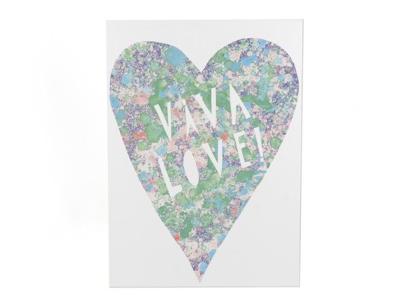 "Carte ""viva love"" Yellow Owl Workshop - 1"