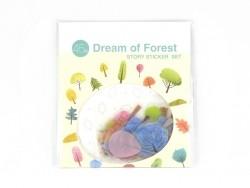 Stickers plastifiés - forêt