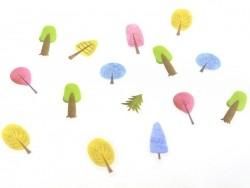 Stickers plastifiés - forêt  - 2