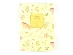 Petit carnet nature - jaune