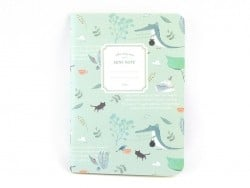 Petit carnet nature - bleu clair