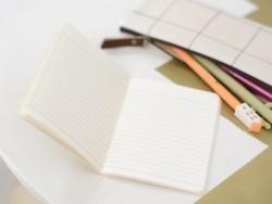 Small notebook - nature/light blue