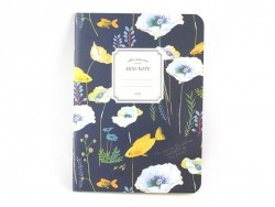 Small notebook - nature/dark blue