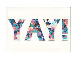 """Confetti card - """"Yay"""""""