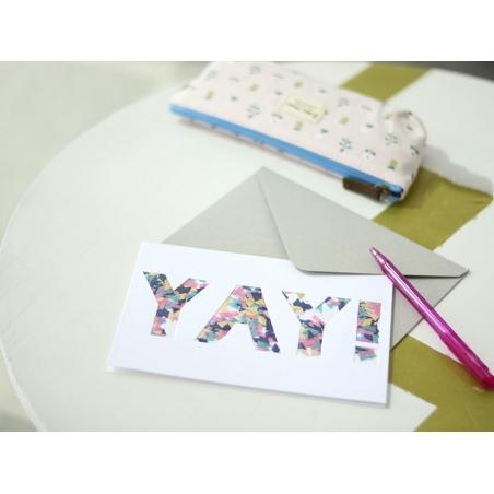"Carte confettis ""yay"" Meri Meri - 2"