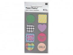 Stickers - kraft ronds