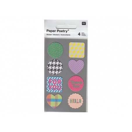 Stickers - Colour mix
