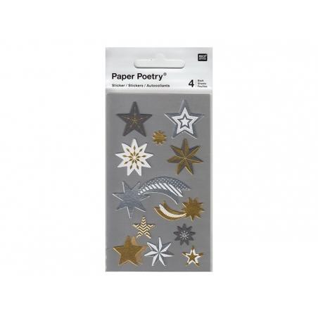 Acheter Stickers - étoiles metallisées - 3,05€ en ligne sur La Petite Epicerie - 100% Loisirs créatifs