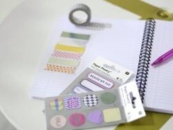 Sticker - metallisierte Bänder