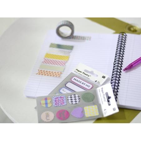 Stickers - tapes metallisés