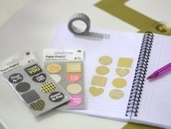 Stickers - kraft paper mix