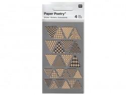 Acheter Stickers - triangles kraft - 3,05€ en ligne sur La Petite Epicerie - 100% Loisirs créatifs