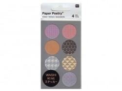 Acheter Stickers - ronds géométriques fluo washi - 3,60€ en ligne sur La Petite Epicerie - 100% Loisirs créatifs