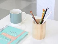 Crayon à papier - lapin blanc