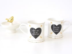 "Mug Flèche - ""Follow your heart"""