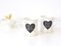 "Mug Flèche - ""Follow your heart"""