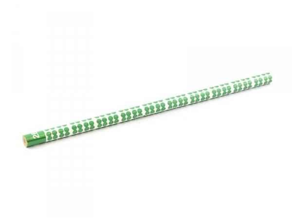 Crayon à papier motifs vintage - vert foncé