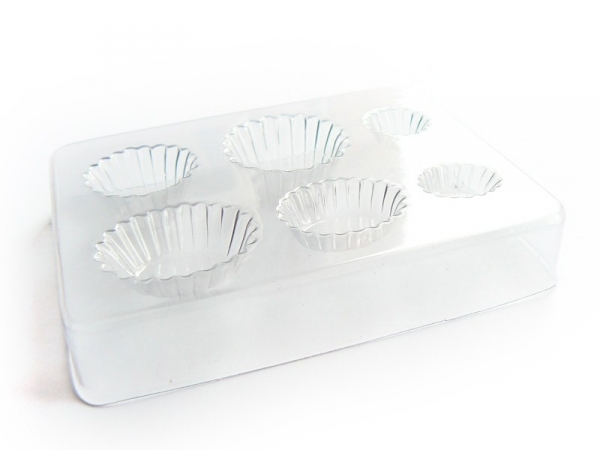 Acheter Moule plastique pour cupcakes et tartes - 4,99€ en ligne sur La Petite Epicerie - Loisirs créatifs