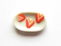 Assiette ovale  - 3