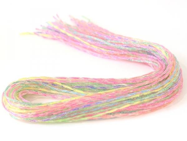 30 scoubidou strings - twisted