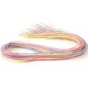 30 fils de scoubidous - multicolore