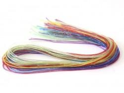 30 scoubidou strings - glitter