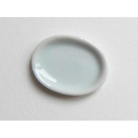Assiette ovale large