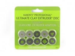 Clay extruder discs - Set C