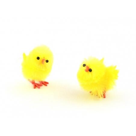 8 decorative chicks