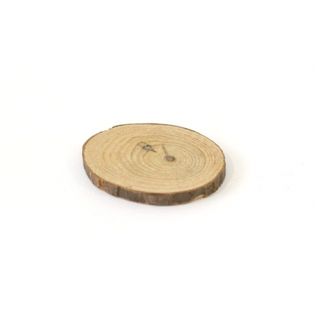 Moyenne rondelle de bois