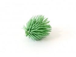 Décoration en épine vert en forme de pomme de pin