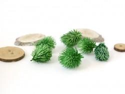 Green pine branch decoration