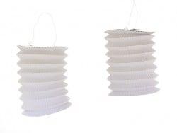 Acheter 5 lanternes en papier - blanc - 7,25€ en ligne sur La Petite Epicerie - Loisirs créatifs