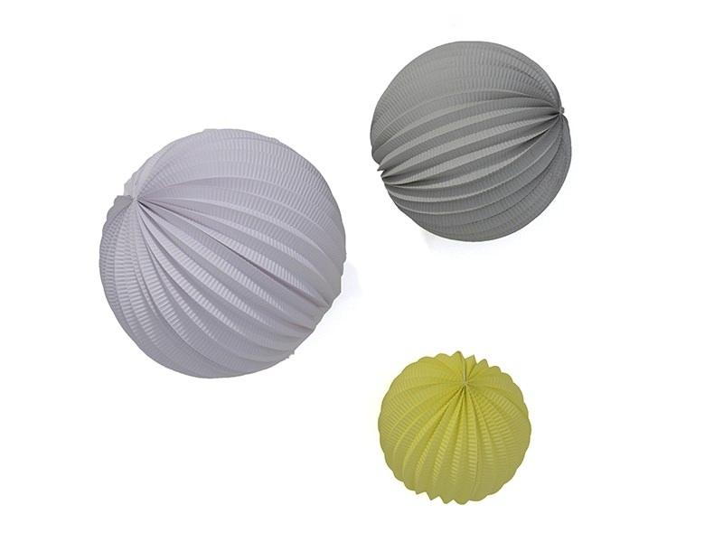 Acheter 3 lampions en papier - pastel - 8,40€ en ligne sur La Petite Epicerie - Loisirs créatifs