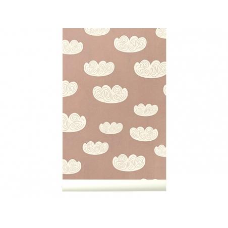 Papier peint - Rose cloud