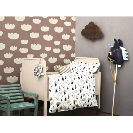 papier peint rose cloud ferm living vente en ligne objets d cos. Black Bedroom Furniture Sets. Home Design Ideas