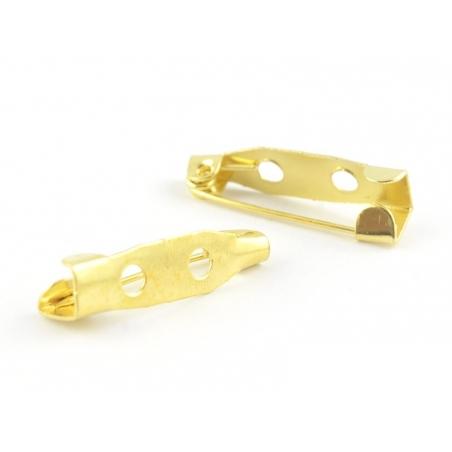 Acheter Support pour broche doré - 20 mm - 0,19€ en ligne sur La Petite Epicerie - 100% Loisirs créatifs
