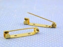 Support pour broche doré - 30 mm