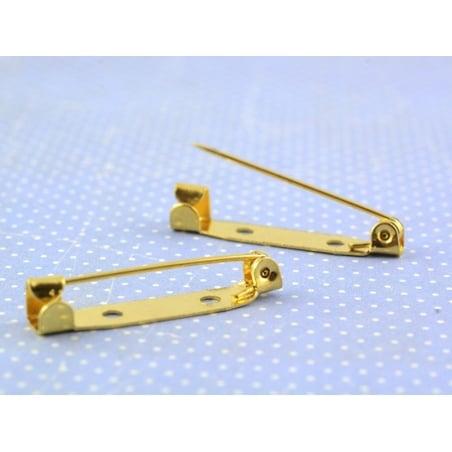 Acheter Support pour broche doré - 30 mm - 0,29€ en ligne sur La Petite Epicerie - 100% Loisirs créatifs